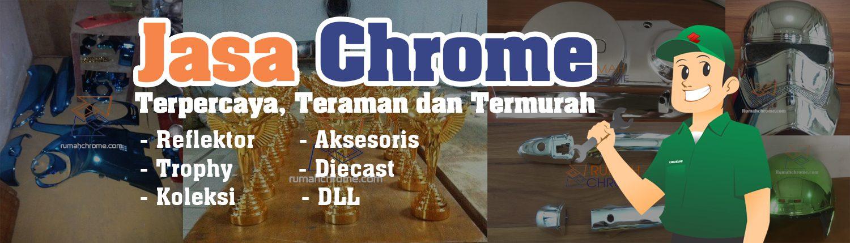 Jasa Chrome Plastik - Hubungi 081213802931